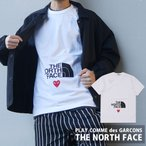 新品 プレイ コムデギャルソン PLAY COMME des GARCONS x THE NORTH FACE MENS The North Face x Play T-Shirt WHITE 200008599030 半袖Tシャツ