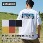 新品 パタゴニア Patagonia M's P-6 Logo Responsibili Tee ロゴ レスポンシビリ Tシャツ REGULAR FIT レギュラーフィット 38504 20SS 200008435020 半袖Tシャツ
