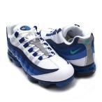 ナイキ NIKE AIR VAPORMAX '95 ヴェイパーマックス WHITE/NEW GREEN-FRENCH BLUE メンズ AJ7292-100 191013116304 フットウェア