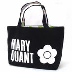 MARY QUANT マリークワント バッグ ランチバッグ ハンドバッグ ロゴ リバーシブル