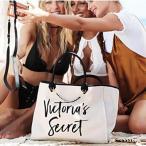 ヴィクトリアシークレット VICTORIA'S SECRET トートバッグ ハンドバッグ 大きめ ホワイト チェーン レディース