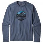 パタゴニア Fitz Roy Scope Lightweight Crew スウェットシャツ トレーナー(Dolomite Blue)