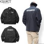 【CLUCT/クラクト】 CLUCT×CHAZ BOJORQUEZ COACH JKT (BLACK) #02355