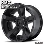 KMC XD811 ROCKSTAR2 17x9J-12 114.3/127 5穴 クローム&マットブラックアクセント 送料無料