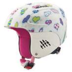 【ヘルメット】14-15 ALPINA アルピナヘルメット CARAT/ホワイトハーツ【ヘルメット ジュニア】