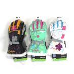 ★ポイント3倍★【握りやすい!】PHENIX フェニックススキーグローブ Candy & Flower Pt.Girl's Gloves PS4H8GL90【グローブ ジュニア キッズ】