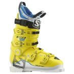 15-16 SALOMON サロモンブーツ X MAX 130 【White/Yellow】【スキーブーツ】
