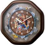 からくり時計  名入れ ワンピースからくり時計  4MH880-M06  シチズン時計