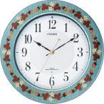 シチズン電波掛け時計 プリュマージュM468 8MY468-005