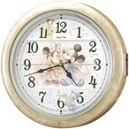 ショッピングミッキー からくり時計 ディズニータイム FW561A セイコー SEIKO電波時計
