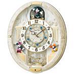 ショッピングミッキー からくり時計  ディズニータイム FW574W  セイコー SEIKO電波時計 メロディー時計