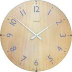 イギリス IN HOUSE インハウスデザイン社 ドームクロック 40cm ビーチウッド NW30CA 1011846