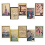 5連 フォトフレーム ブリストル Bristol 写真立て 壁掛け アンティーク 木製 複数 5枚 プレゼント レトロ フレンチ 卓上 おしゃれ