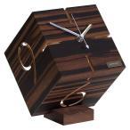 置き時計 パズル スタンドタイプM 黒檀 PUZZLE STAND TYPE ヤマト工芸 置時計 雑貨 インテリア 和風 北欧 テイスト おしゃれ
