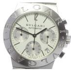 【BVLGARI】ブルガリ ディアゴノ クロノグラフ デイト CH35S 自動巻き メンズ