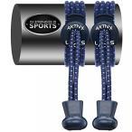 ショッピングスポーツ シューズ スポーツシューズ AKTIVX SPORTS LACES ? No Tie Shoelaces that Lock ? Replacement Elastic Shoelaces, Athletic Laces for Running Gear Accessories, Mens