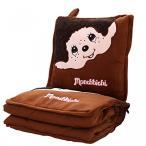 Yahoo!CLOUDショップオーロラ ブライダルかわいいモンチッチ ホーム ソファ車装飾的なベルベットぬいぐるみ珊瑚フリース投球枕、毛布セット 正規輸入品