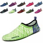 ショッピングスポーツ シューズ スポーツシューズ Mens Womens Water Skin Shoes Quick Dry Aqua Socks Barefoot Shoes for Beach Swim Surf Yoga 正規輸入品