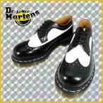 ドクターマーチン Dr.MARTENS WINGTIP SHOE 10458001 BLACK WHITE ウィングチップ ブラック ホワイト