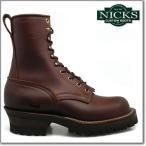 NICKS BOOTS ニックスブーツ 25V HOT SHOT 8inch ホットショット 8インチ チョコ E ワイズ