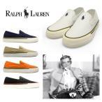 ポロ ラルフローレン Polo Ralph Lauren FMYTTON スリッポン ネイビー 白 ホワイト ベージュ オレンジ 黒 ブラック スニーカー