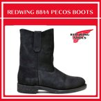 レッドウィング REDWING ペコスブーツ 8844 9INCH PECOS BLACK メンズ