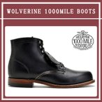 ウルヴァリン 1000マイルブーツ ブラック 黒 WOLVERINE 1000MILES W05300 ワークブーツ