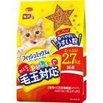 日本ペットフード mio(ミオ) ミオ おとなのおいしくって毛玉対応 フィッシュミックス味 2.7kg