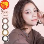 カラコン 2week ZERU. 2ウィーク ゼル ナチュラル 2週間交換 1箱6枚×2箱セット 2week コンタクト