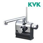 ショッピングKVK KVK 水栓金具【KF3008R】デッキ型サーモスタット式シャワー 可変ピッチ 右ハンドル仕様