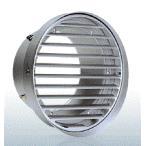 西邦工業【SV125TBL】内向ガラリ型 水切り付 低圧損外壁用アルミ換気口 フラットグリル