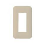 パナソニック 配線金具【WTF7003G】コンセントプレート 1連用 ラウンド利休色