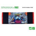 SPASHAN NOVITECオリジナル限定デザイン タオル ベロア風生地 で 肌触り & 吸水性抜群 スパシャン