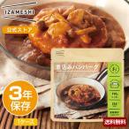 IZAMESHI(イザメシ) 煮込みハンバーグ 1ケース 18個入り (長期保存食/3年保存/おかず)
