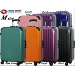 スーツケース 中型 軽量 フレーム スーツケース中型 スーツケース  ダブルキャスター SUITCASE
