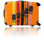 【注文条件付!当店スーツケースのクラブツーリスト店でスーツケース同時購入者限定!】 ダイヤル式TSAロックベルト