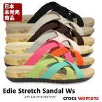 ショッピングサボ crocs【クロックス】 Women's Crocs Edie Stretch Sandal/ウィメンズ クロックス エディ ストレッチ サンダル レディース サンダル スリッパ