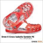 crocs kids【クロックス キッズ】Drew X Crocs Isabella Sandals PS / ドリュー イザベラ サンダル PS ※※