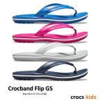 クロックス キッズ / クロックバンド フリップ GS  / crocs kids Crocband Flip GS ※※ ケイマン サンダル ビーサン