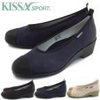 KISSA SPORT  キサスポーツ  パンプス  ベーシックウェッジパンプス ks8213 送料無料 キャンバススニーカー