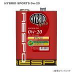 RESPO(レスポ) エンジンオイル HYBRID Sports 0W-20 20L