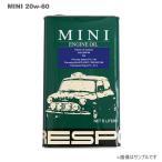 RESPO(レスポ) エンジンオイル MINI 20W-60 5L×4缶セット