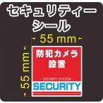 セキュリティー 防犯 カメラ ステッカー(シール) 正方形 小 屋外使用可能 当社製作 日本製