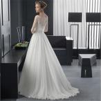 ウェディングドレス 結婚式 マーメイドドレス 花嫁 ワンピース 二次会 パーティードレス ホワイト レース 体型カバー