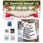 【AMERICAN APPAREL】アメリカンアパレル アメアパ ショルダーバッグトートバッグ シティ バッグ プレゼント