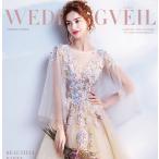 ウェディングドレス 二次会 ウエディングドレス ロング 二次会ドレス パーティードレス ロングドレス 花嫁ドレス カラードレス 大きいサイズ 結婚式 白