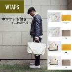 WTAPS ダブルタップス トート バッグ ショルダーバッグ Sサイズ  中のポケット付き キャンバス wtaps