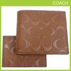 ショッピングコーチ 財布 コーチ 二つ折り財布 定期入れ パスケース IDケース メンズ COACH シグネチャー レザー