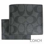 ショッピングコーチ 財布 コーチ 二つ折り財布 定期入れ パスケース IDケース メンズ COACH シグネチャー