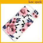 ケイトスペード iPhone8 Plusケース iPhone7 Plusケース kate spade 花柄 バラ 薔薇